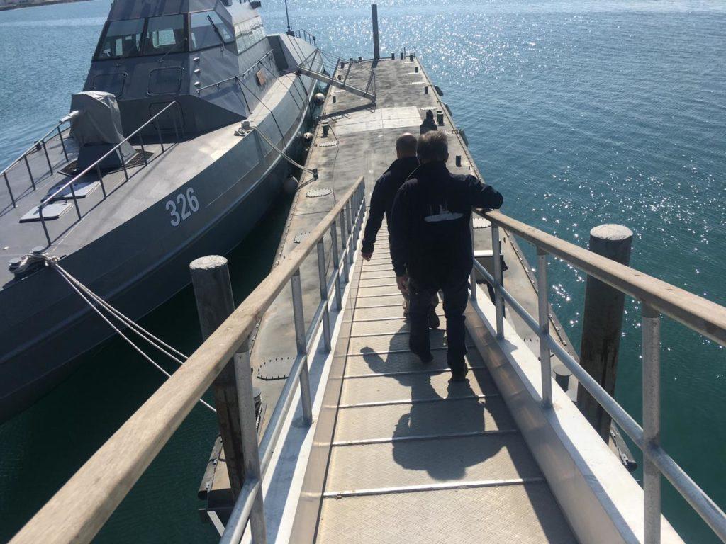 Zamil Ladders Co. Supplies Ras Mishaab Port with Sea Lanes